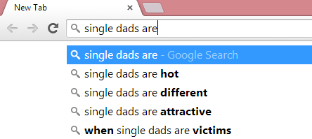 Now single dads....